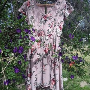 Lily Star - Vintage Style Rose/Floral dress